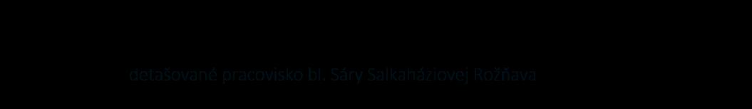 VŠZaSP sv. Alžbety logo